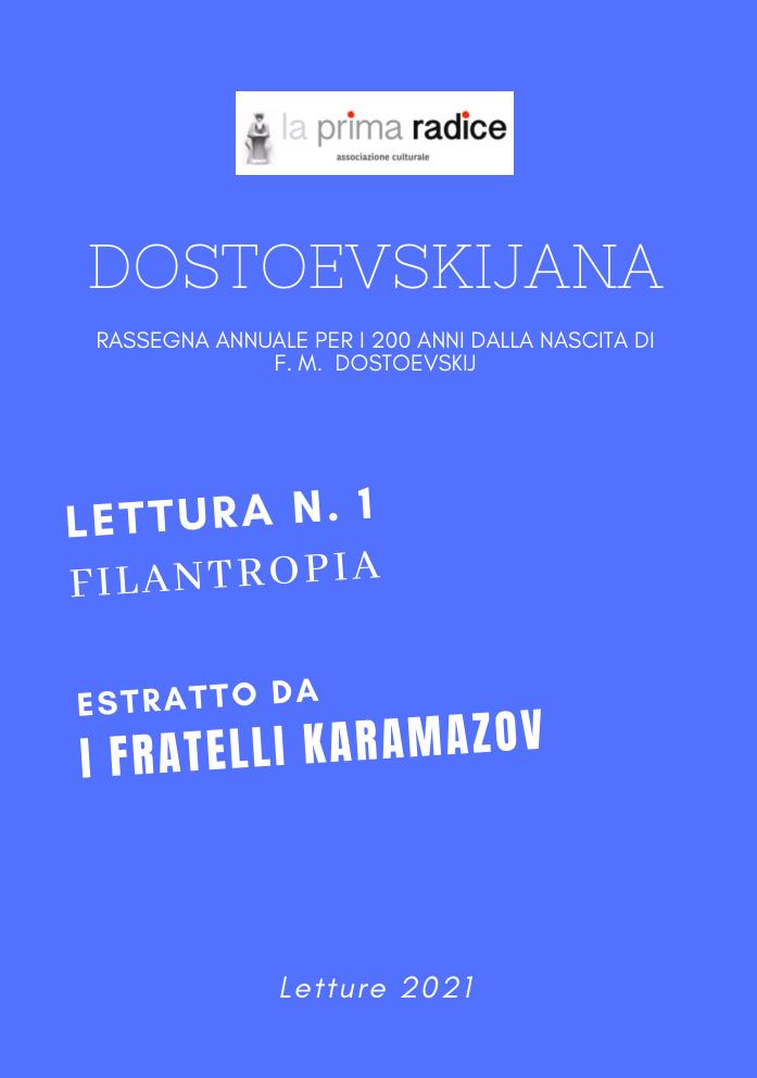 Dostoevskijana: lettura n. 1