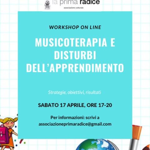 Workshop Musicoterapia e DSA